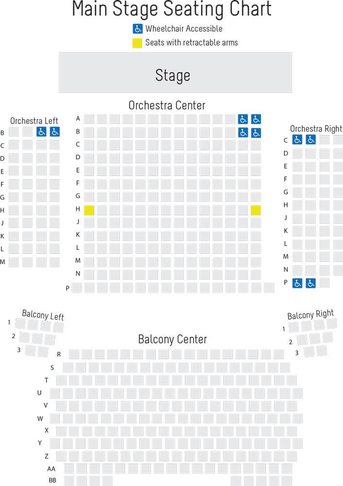 Gilliam Stage Seating Chart